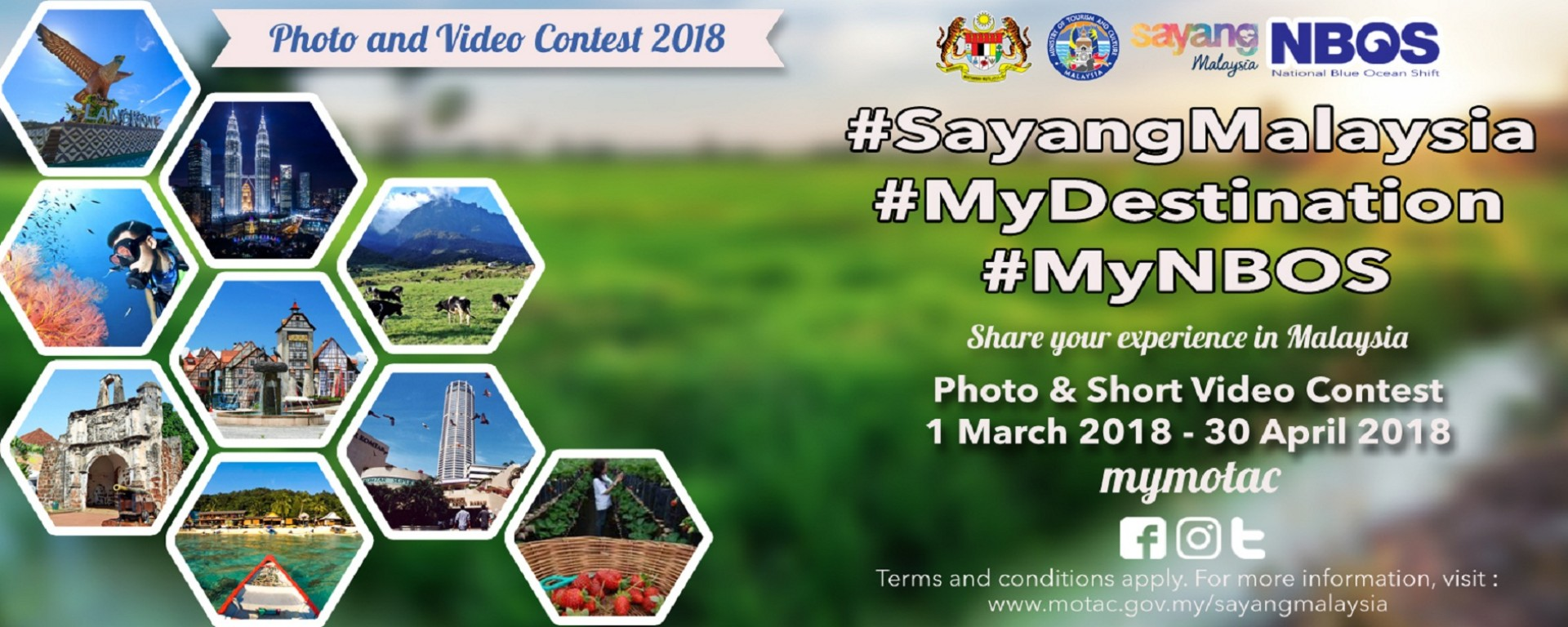 Kempen Media Sosial #SayangMalaysia <div class='action'><a href='http://www.motac.gov.my/sayangmalaysia' class='btn btn-danger btn-lg' target='_blank'>Find Out More</a></div>