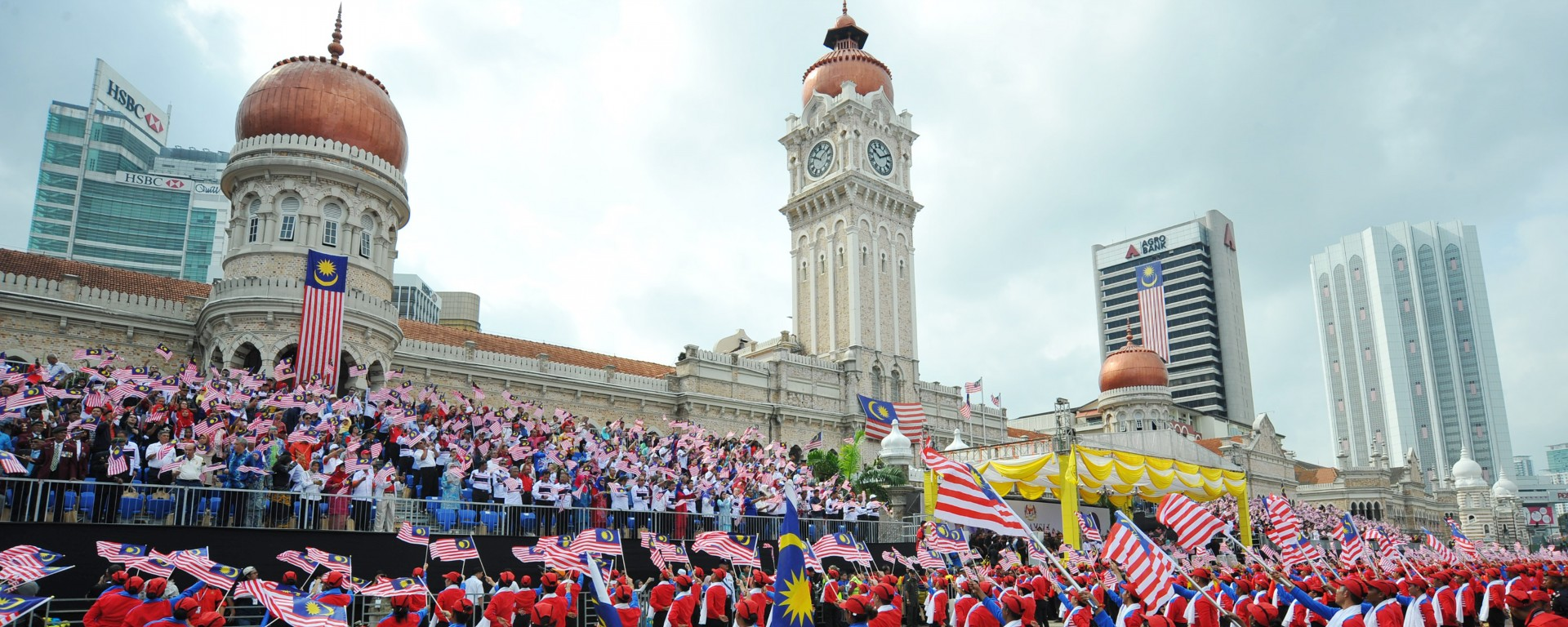 A grand parade to mark Malaysia&#039;s 60th National Day celebration <div class='action'><a href='' class='btn btn-danger btn-lg' target=''>Find Out More</a></div>