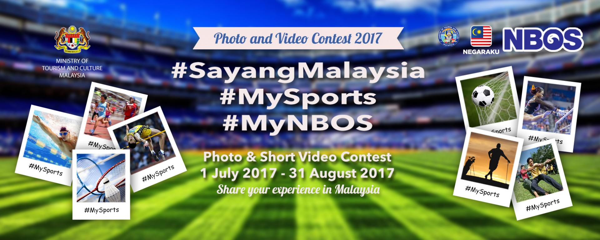 Photo &amp; Video Contest NBOS 2017 <div class='action'><a href='http://www.motac.gov.my/sayangmalaysia' class='btn btn-danger btn-lg' target='_blank'>Learn More</a></div>