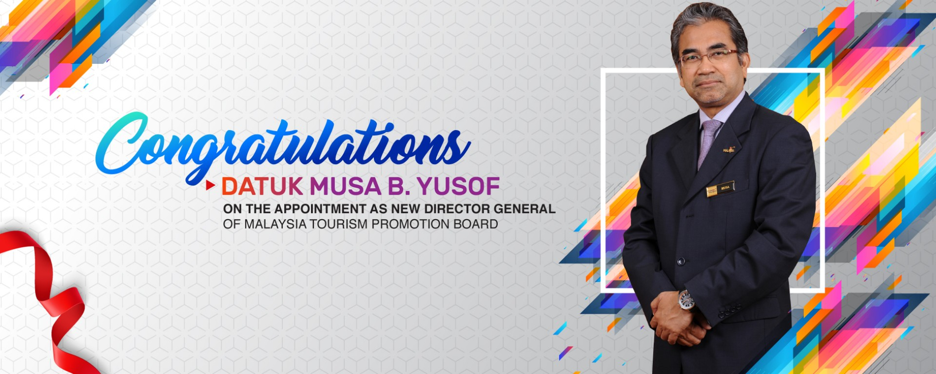 <div class='action'><a href='https://www.tourism.gov.my/media/view/datuk-musa-yusof-appointed-as-new-tourism-malaysia-director-general' class='btn btn-danger btn-lg' target='_blank'>Read More</a></div>